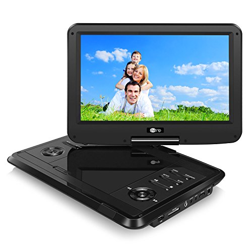 dvd player auto 11 6 zoll monitor tragbarer dvd player. Black Bedroom Furniture Sets. Home Design Ideas