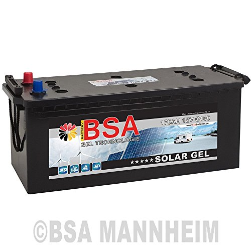 gel batterie 170ah 12v blei gel solarbatterie wohnmobil. Black Bedroom Furniture Sets. Home Design Ideas