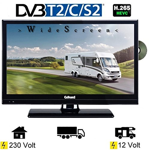 gelhard gtv2042 led tv 20 zoll wide screen dvb s s2 t2 c. Black Bedroom Furniture Sets. Home Design Ideas