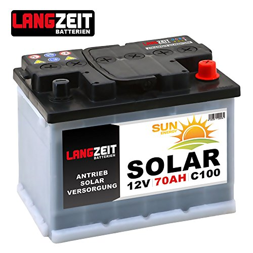 solarbatterie 70ah 12v wohnmobil boot camping schiff. Black Bedroom Furniture Sets. Home Design Ideas